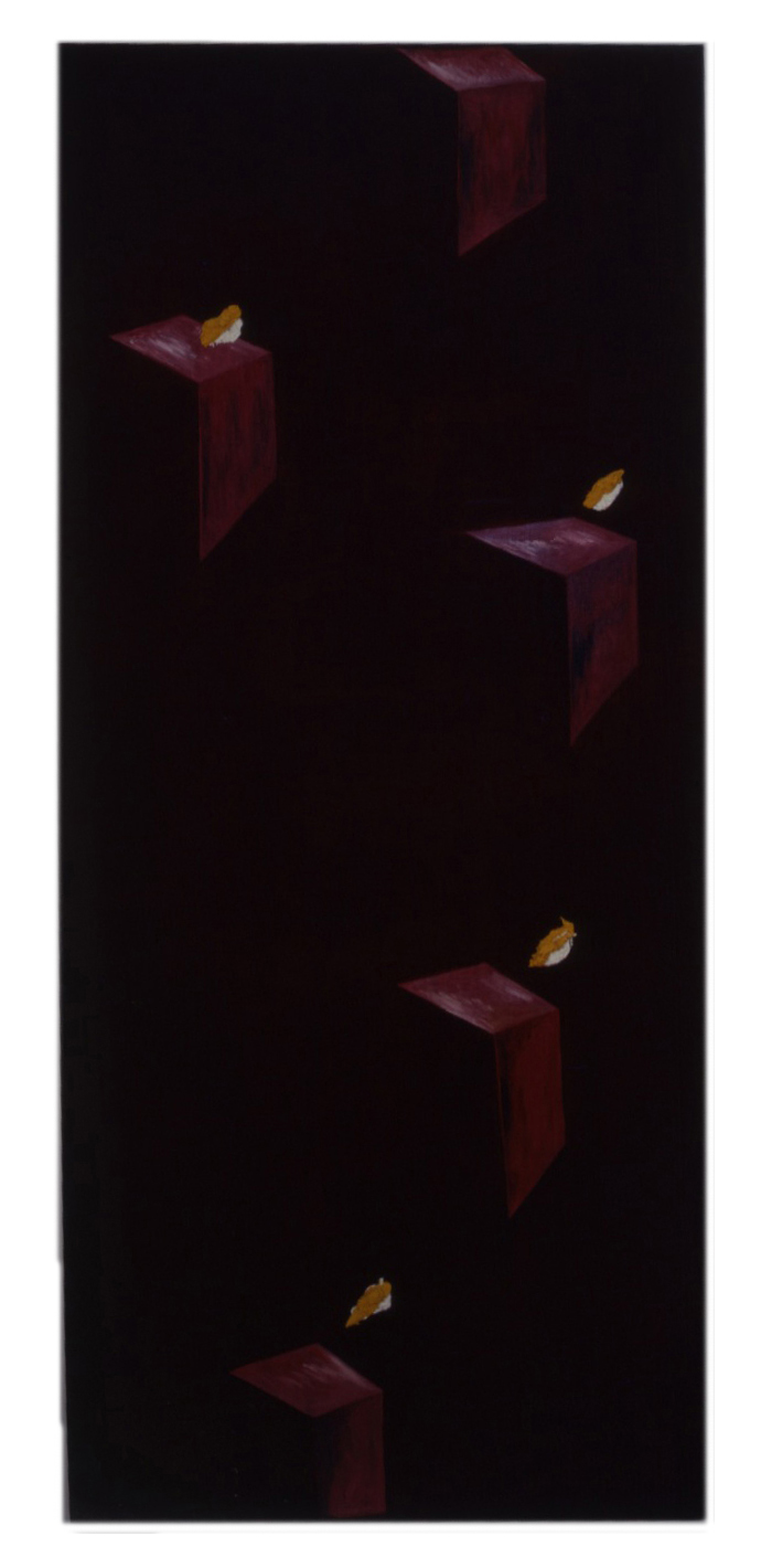 Asequia Madre - GP 88 Oil on Linen 84 x 37-Final