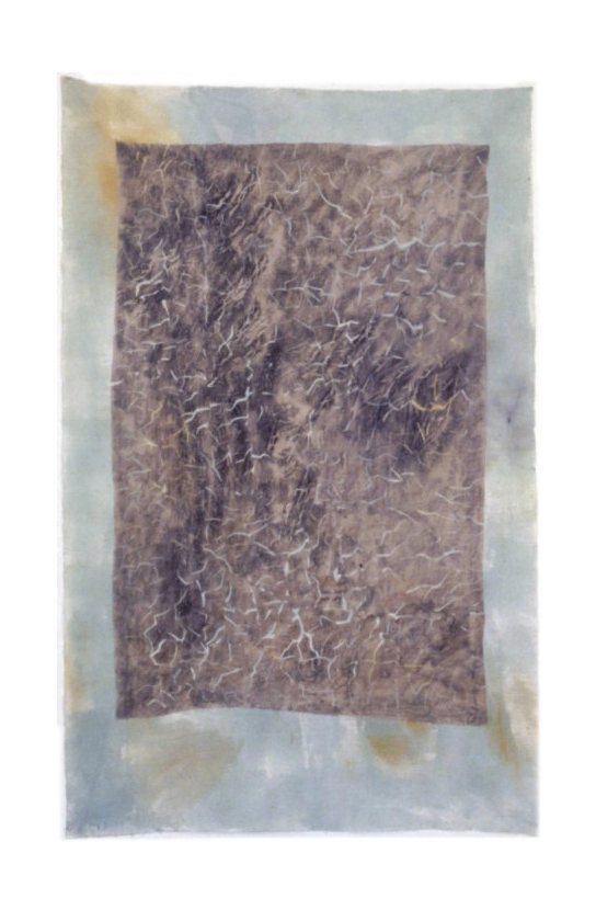 Composite Pciture No.03 GP 1993 Acrylic, polymer, graphite, on muslin on linen 89 1-2 x 56 1-2-final